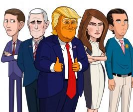 Novinka pod lupou: Our Cartoon President (Showtime)