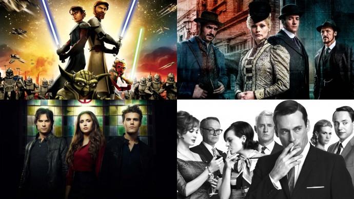 Anketa: Který ukončený seriál máte nejraději? (duel 5+6)