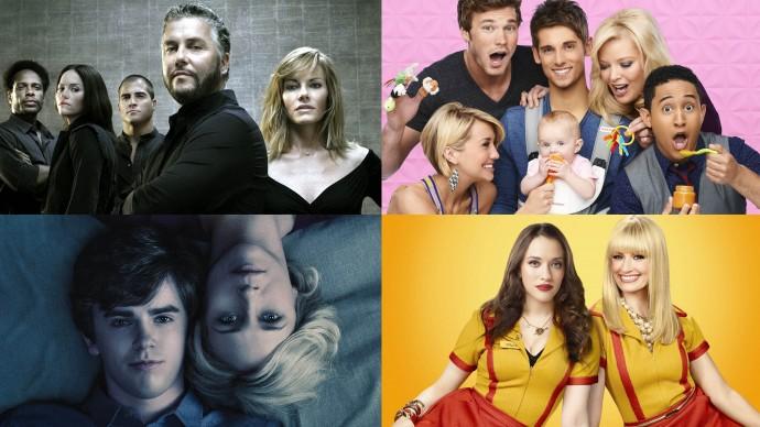 Anketa: Který ukončený seriál máte nejraději? (duel 7+8)