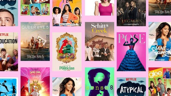 Zastoupení LGBTQ v seriálech v roce 2020
