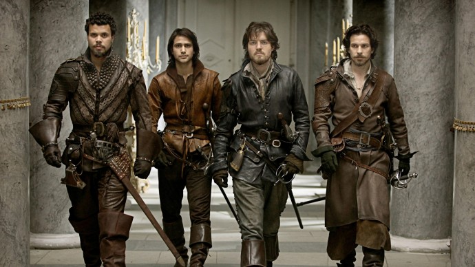 S lupou do historie: The Musketeers