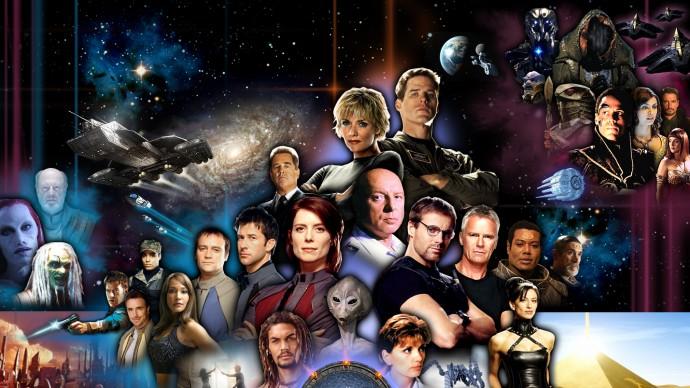 Chronologie seriálů: Stargate