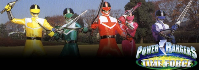 Power Rangers Time Force (Power Rangers Time Force) — 1. série