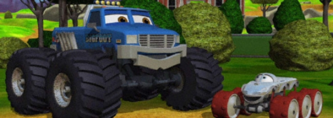 Meteor Monster Trucks (Bigfoot Presents: Meteor and the Mighty Monster Trucks)