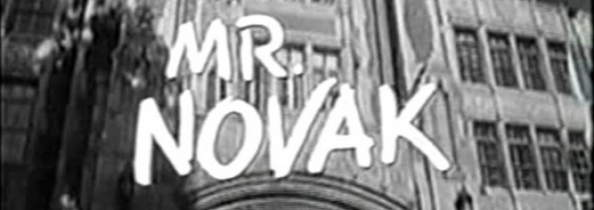 Mr. Novak (Mr. Novak) — 1. série