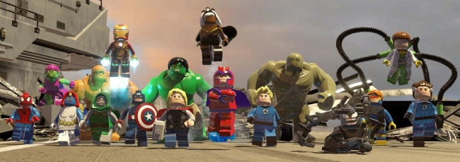 Lego Marvel Super Heroes: Maximum Overload (Lego Marvel Super Heroes: Maximum Overload) — 1. série
