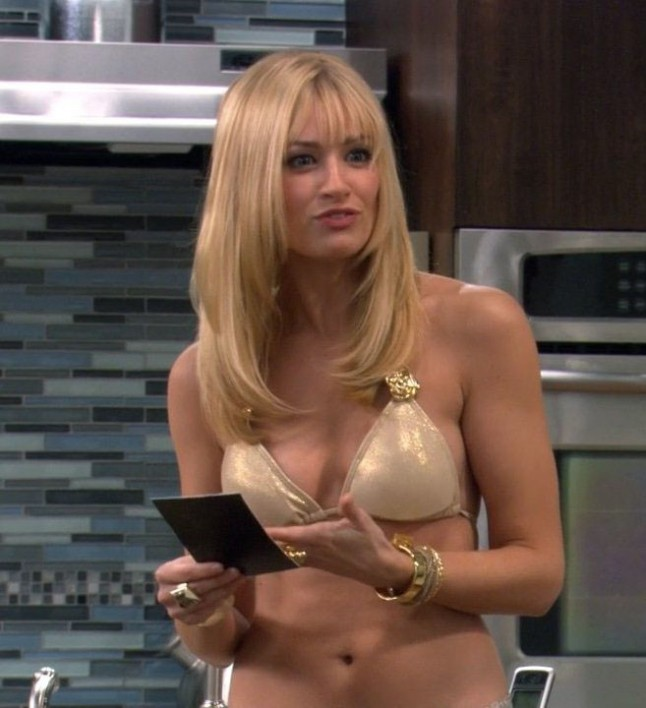 Sexy beth behrs hot gif
