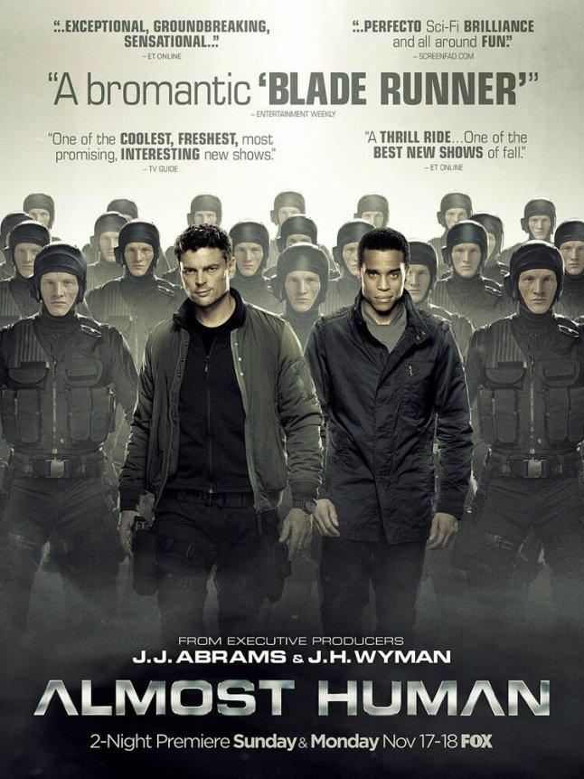 Almost Human– plakát