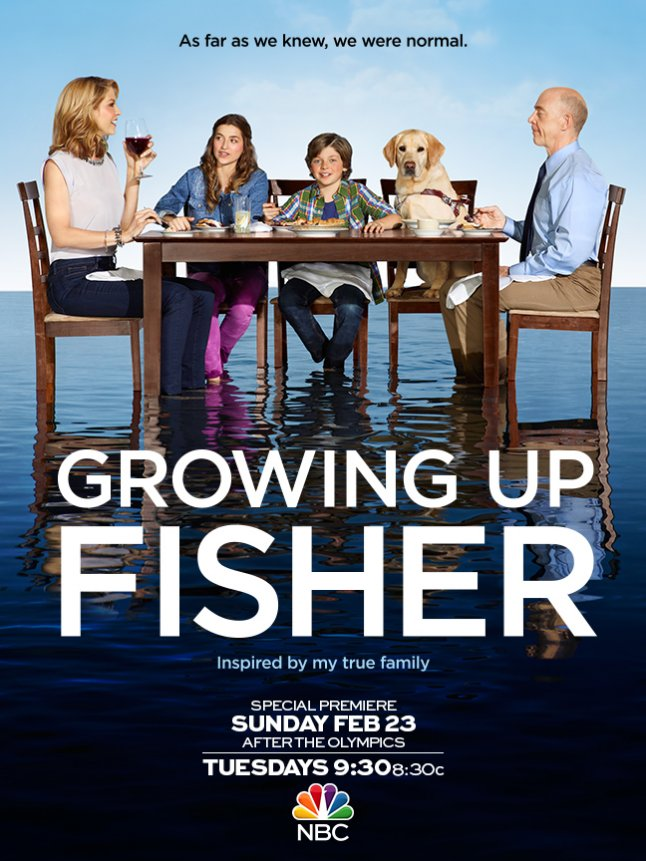 Growing Up Fisher – plakát
